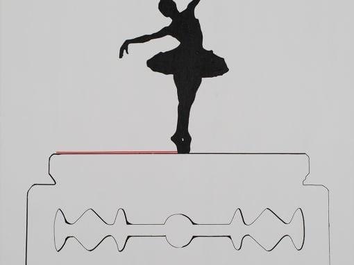 Bailando sobre cuchilla